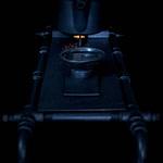 Cha-Board mit Stövchen und Kanne und Untersetzer von Cushin Kobo Masuda für die perfekte Tee-Zeremonie und Genuss hochwertigster und teurer Tee-Raritäten aus schwarzem Stahl und altem Eichenholz im Wabi-Sabi Stil designed von Lange Architekten